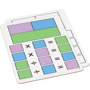 Fact Family Dry Erase Boards - Multiplication And Division - 6 boards