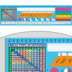 Zaner-Bloser Cursive Intermediate Deluxe Plastic Desktop Helpers™ - 24 helpers