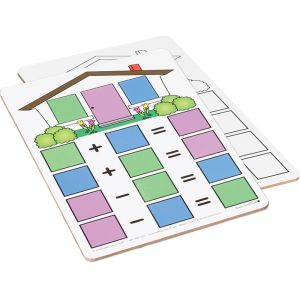 Fact Family Dry Erase Boards - Addition And Subtraction - 6 boards