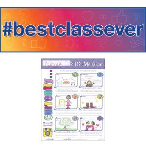 Ready-To-Decorate® It's Me Gram Bulletin Board Kit - 1 bulletin board set