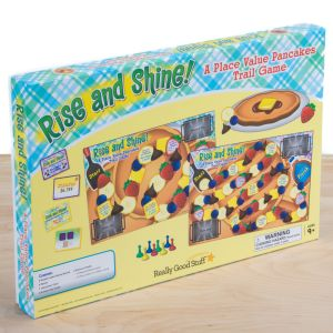 Rise And Shine! A Place Value Pancakes Trail Game - 1 game