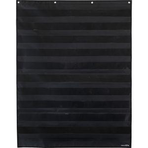 Large Rectangle Pocket Chart  Black - 1 pocket chart