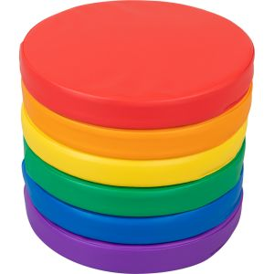 Round Cushions - Set Of 6 - 6 Colors