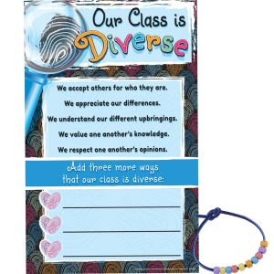 Diversity Poster Set With UV Color-Changing Beads