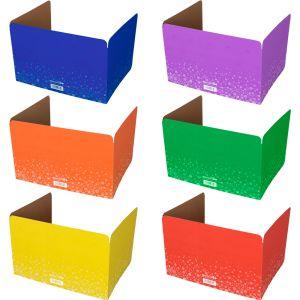 Large Fizz! Privacy Shields™ - Set Of 12 - 6 Group Colors - Matte