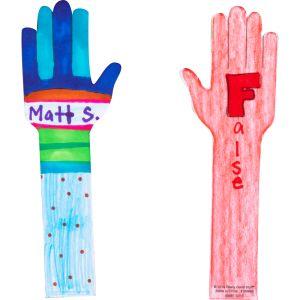 DIY Student Hands - 36 hands