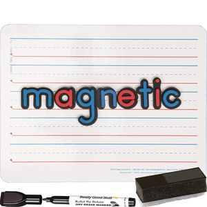 """12"""" X 9"""" Magnetic Two-Sided Dry Erase Board Set - 24-Pack"""