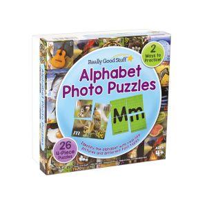 Alphabet Photo Puzzles