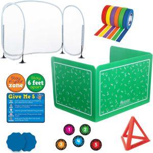 Student and Teacher Distancing Kit - 1 multi-item kit
