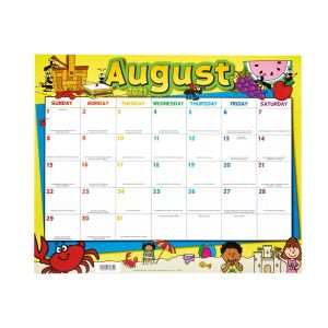 Monthly Calendar Pages and Stickers 2021-2022 Primary