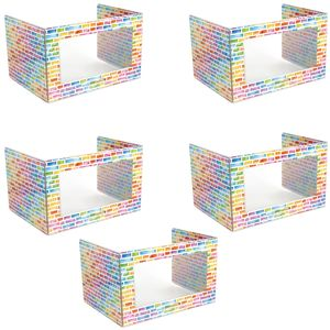 Deluxe See-Thru Privacy Shields - Set of 5