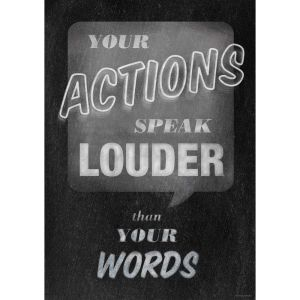Inspire U Poster - Your Actions - 1 poster