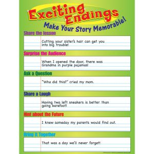 Exciting Endings Poster - 1 poster