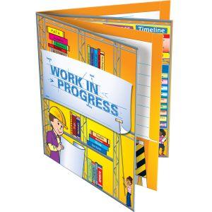 Work-In-Progress 4-Pocket Folders - 12 folders