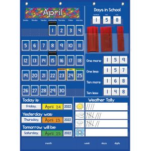 All About Today Pocket Chart™ - 1 pocket chart and cards