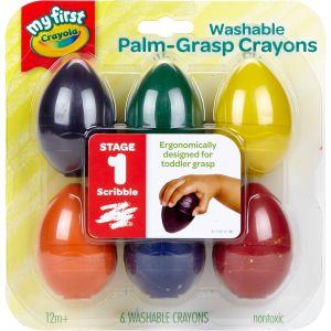 My First Crayola Washable Egg Crayons  6 Ct. - 6 crayons