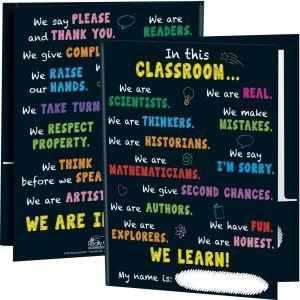In This Classroom Folders - 12 folders