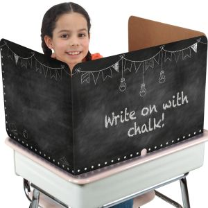 Large Privacy Shields - Set of 12 - Chalk Board
