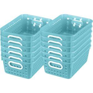 Book Baskets - Medium Rectangle - 12 baskets