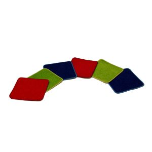 Small Seating Squares - Set of 6