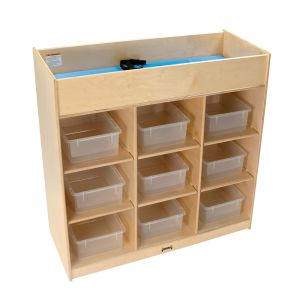 9-Tub Changing Table with Pad