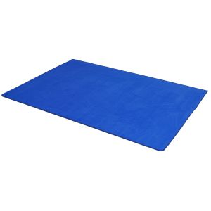 Blue Solid - Rectangle Small