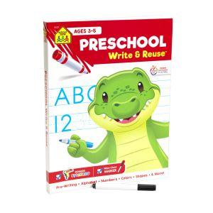Preschool Write & Reuse Workbook