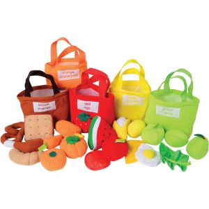 Soft Sorting Colorful Food Bags