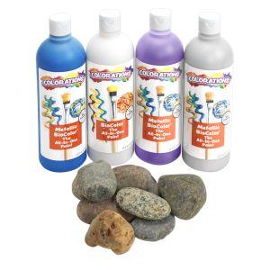 Colorations (R) Pouring Art Rock Paint Kit