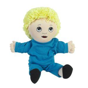 Sweat Suit Doll - Caucasian Boy