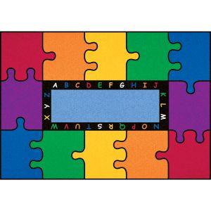 ABC Rainbow Puzzle - Rectangle Small