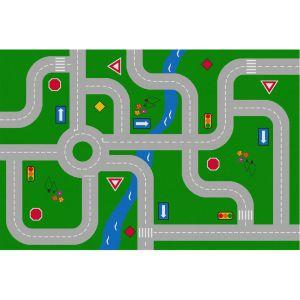 Traffic Signs Value Rug - Rectangle Mini