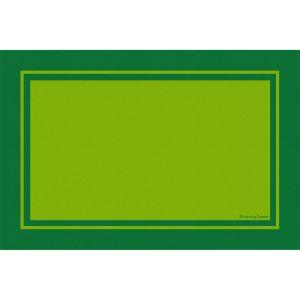 Contemporary Border Green - Rectangle Small