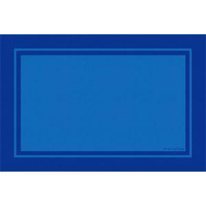 Contemporary Border Blue - Rectangle Small