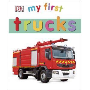 My First Trucks Board Book