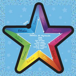 Spanish Breathing Star (Estrella de respiración) - Set of 6