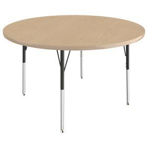 "48"" Round Table, Maple/Maple"