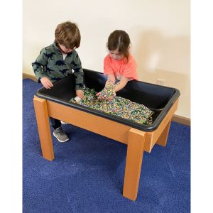 Outdoor Sand and Water Table with Drain - Large
