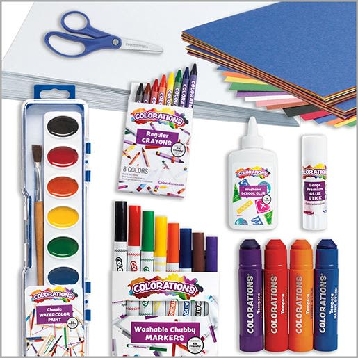 Basic Art Supplies Kit
