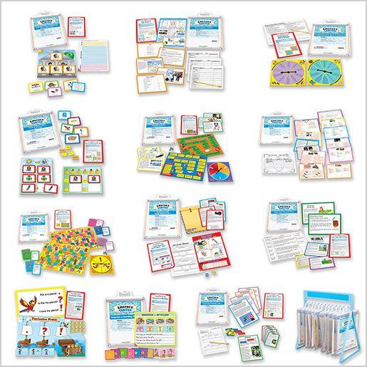 Comprehension Literacy Centers : Grades K-3