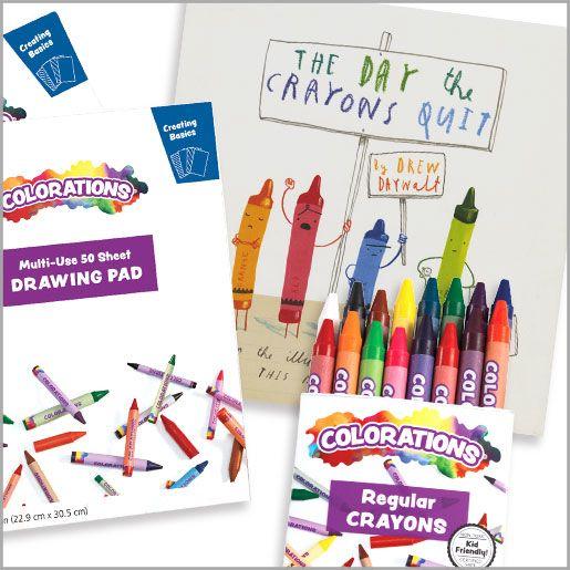 crayon bundle ages 3 - 4yrs