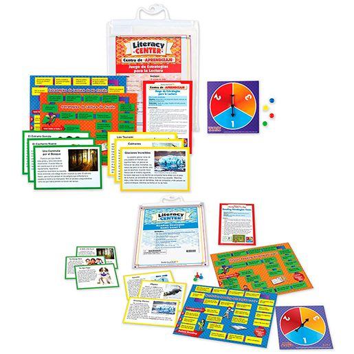 Dual Language Reading Strategies Game Bundle: Grades 2-3