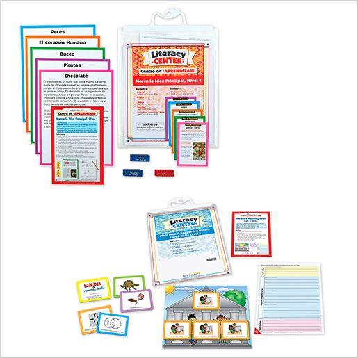 Dual Language Sort & Write Literacy Center Bundle: Grades 2-3