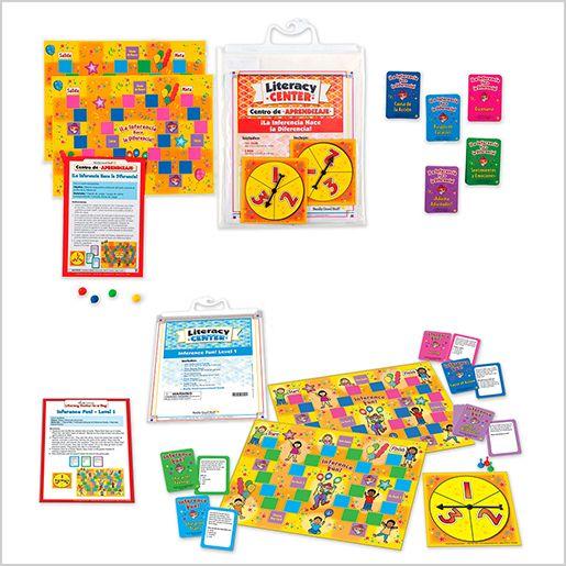 Dual Language Inference Fun! Literacy Center Bundle: Grades 2-3