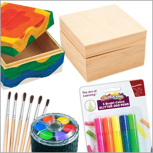 Decorate Your Own Wooden Box