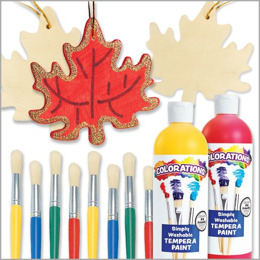 Decorate Your Own Leaf Ornament