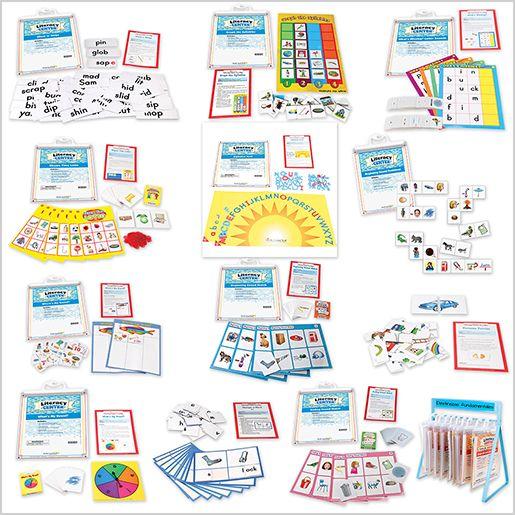 Foundation Skills Literacy Centers: Grades K-1