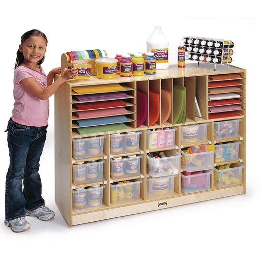 Sectional Mobile Cubby Storage