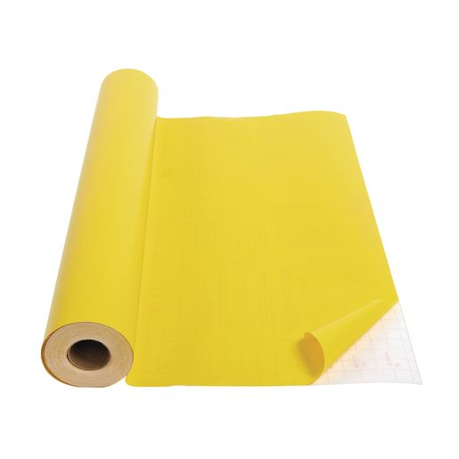 "Yellow Con-Tact® Repositionable Cover - 18""W x 60'L"