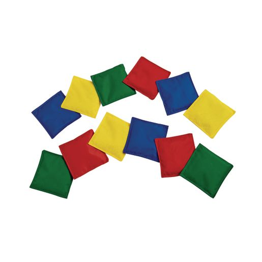 Colored Beanbags - Set of 12